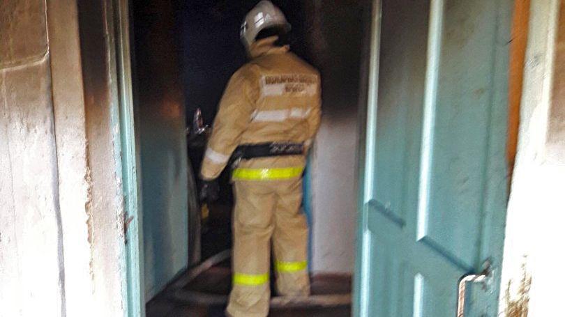На пожаре в Сакском районе был обнаружен погибший