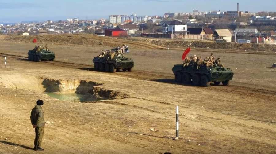 Севастопольский парк «Патриот» еще раз вывел войска из Афганистана