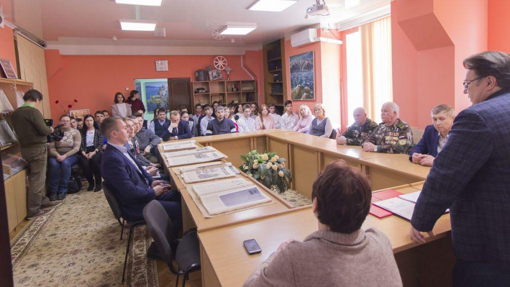 В Госкомархиве состоялось открытие выставки, посвященной Дню памяти о россиянах, исполнявших служебный долг за пределами Отечества