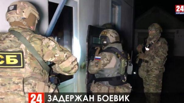 ФСБ задержала в Крыму украинского боевика нацбатальона