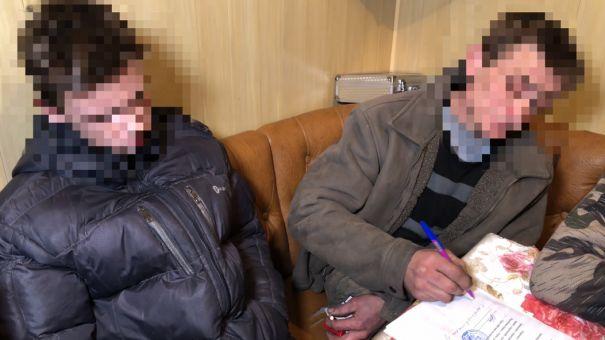 Опубликовано видео задержания последователей Рослякова в Керчи
