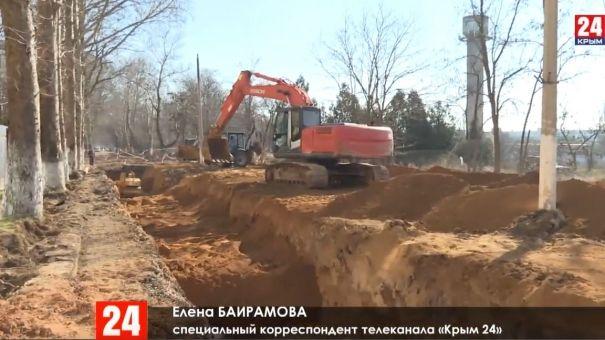 В Саках заканчивают ремонт центральной улицы