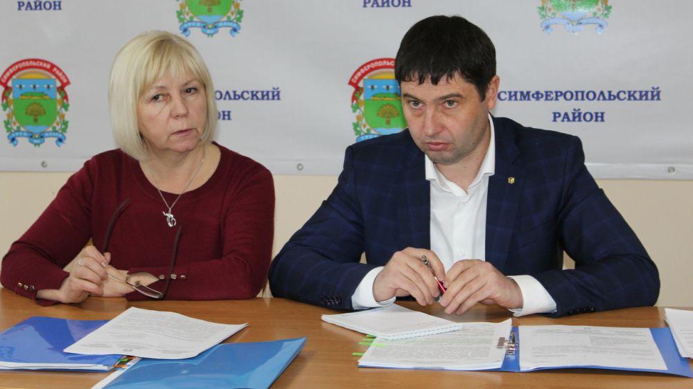 В администрации Симферопольского района обсудили возможность реализации двух инвестиционных проектов
