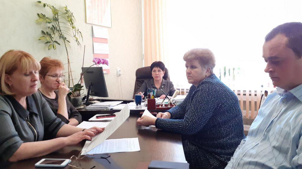 Заседание балансовой комиссии по рассмотрению результатов финансово-хозяйственной деятельности МУП «Городская управляющая компания»