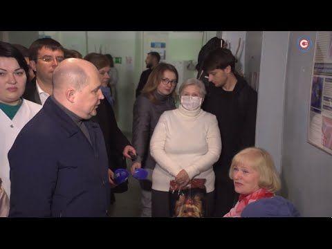 Михаил Развожаев: Больниц и поликлиник у жителей Северной стороны должно быть больше (СЮЖЕТ)