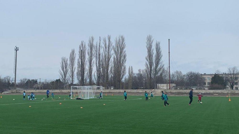 Новый спортивный комплекс скоро появится в селе Андреевка