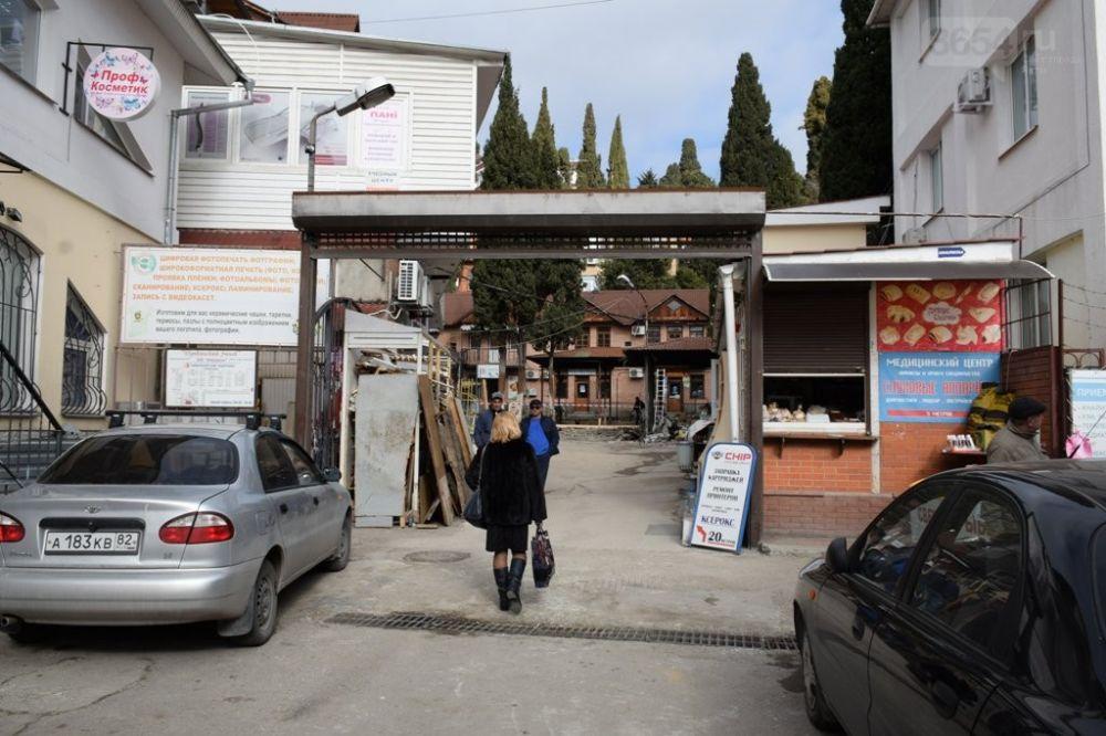Пушкинский рынок в Ялте закончат ремонтировать к 1 мая