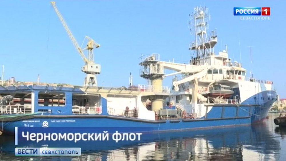 В состав Черноморского флота войдет новейший буксир «Сергей Балк»