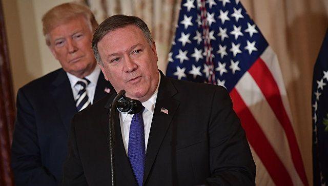 В посольстве США в Киеве сделали заявление по Крыму и Помпео