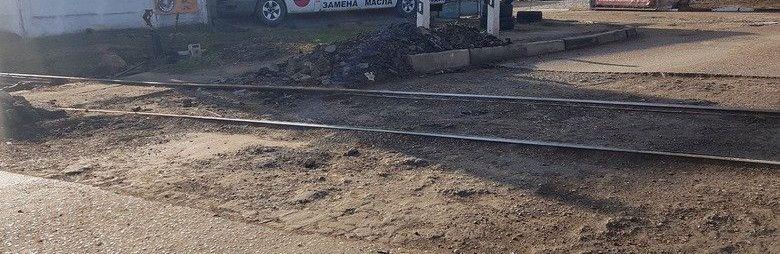 Ж/д переезд на улице Элеваторная в Симферополе обещают доремонтировать с ближайшие дни, ВИДЕО