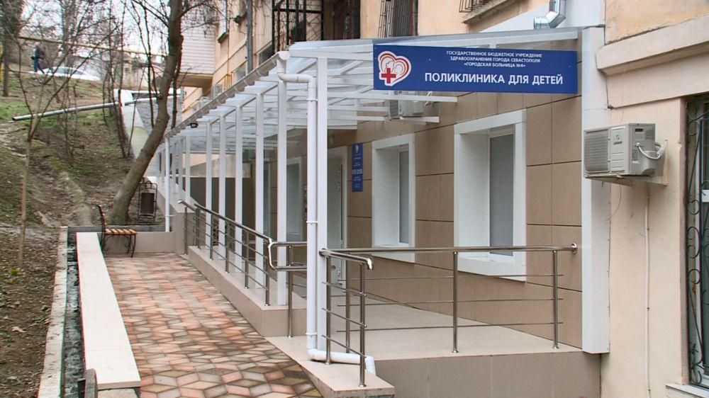 Какой стала детская поликлиника № 4 на Северной стороне после капремонта?