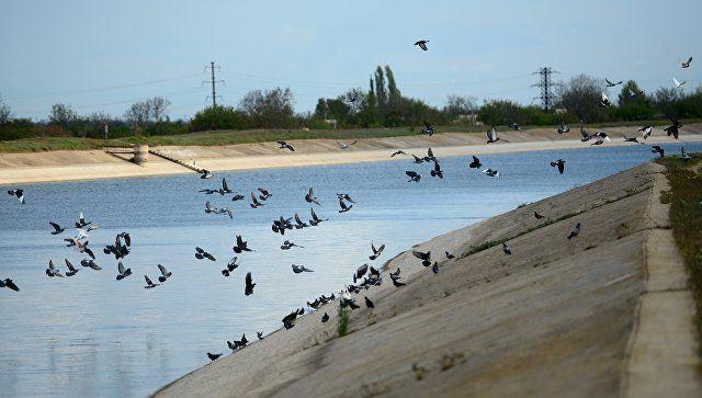 На Украине всё-таки планируют подавать воду в Крым
