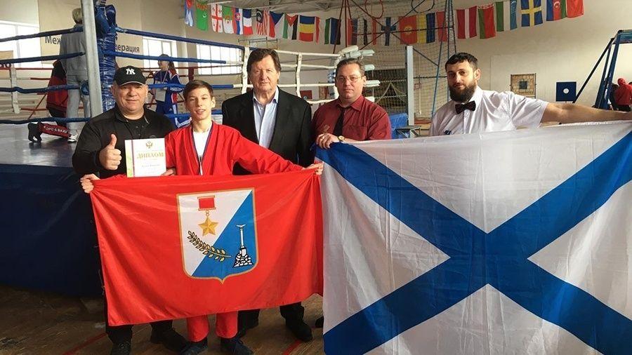 Севастополец Виталий Коваль завоевал две медали на юношеском первенстве России по универсальному бою
