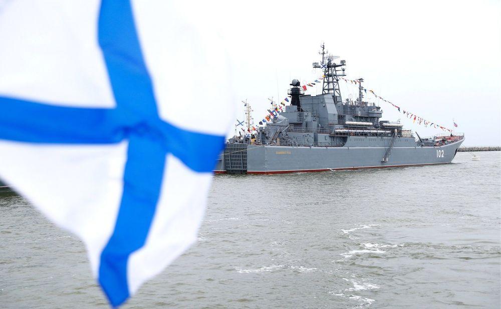 В Крыму и Севастополе прошли праздничные мероприятия Черноморского флота