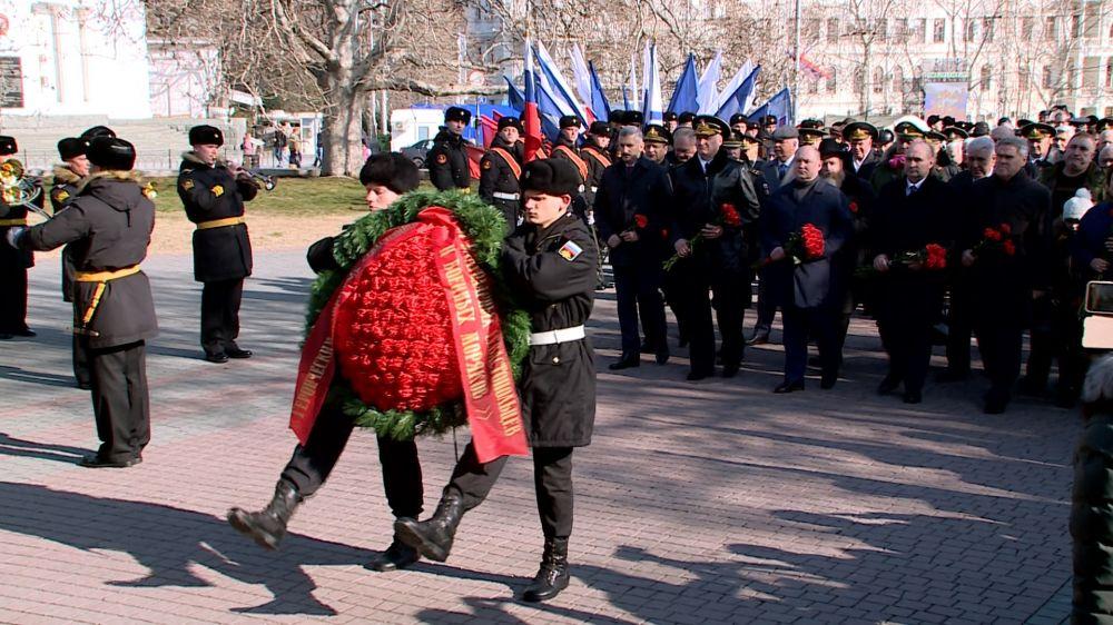 В Севастополе празднуют шестую годовщину начала Русской весны