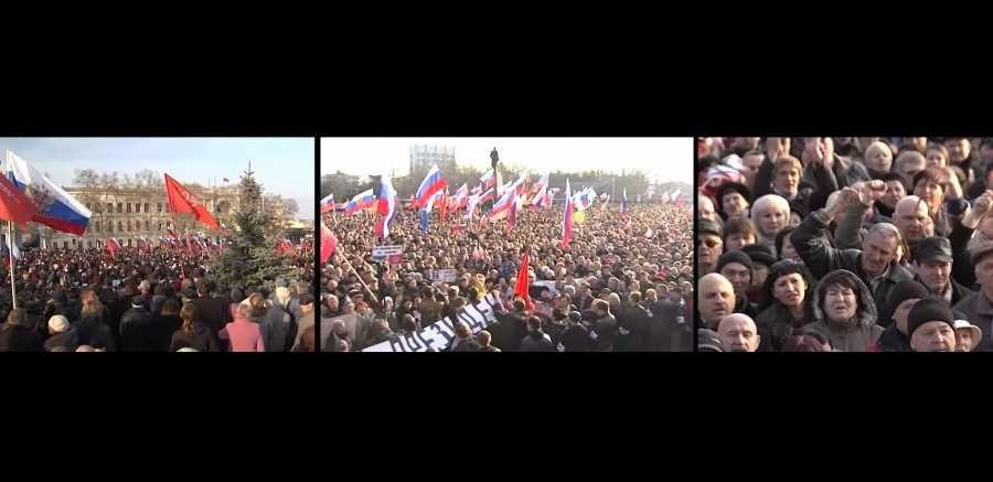 Смотрите новый фильм о 23 февраля 2014 года в Севастополе
