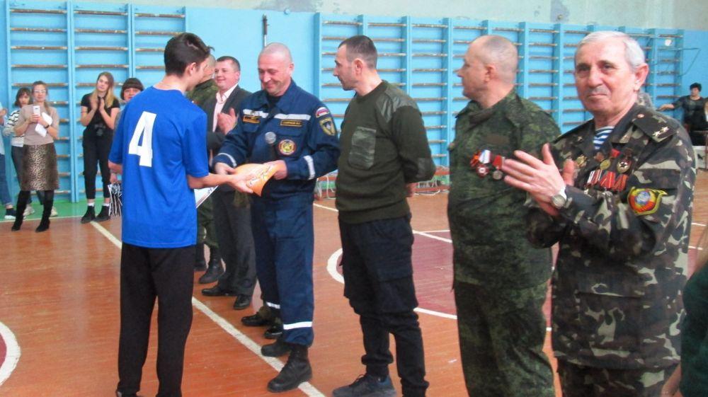Сотрудники ГКУ РК «Пожарная охрана Республики Крым» приняли участие в мероприятии, посвященном Дню защитника Отечества