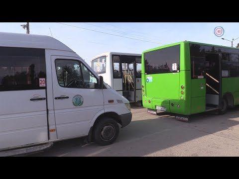 Департамент транспорта контролирует санитарную обработку автобусов (СЮЖЕТ)
