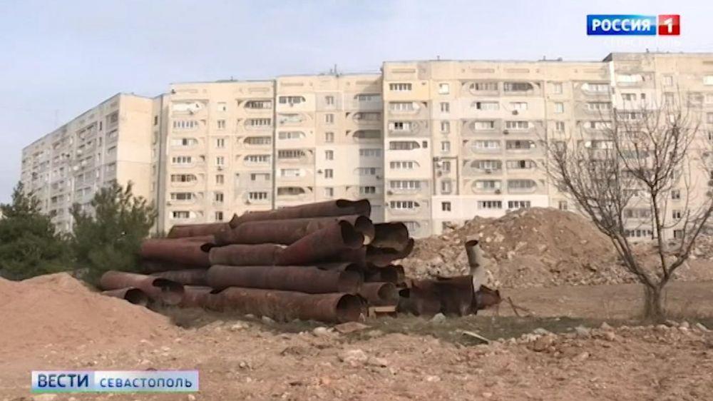 После ремонта теплотрассы на пр. Героев Сталинграда появится зелёная зона