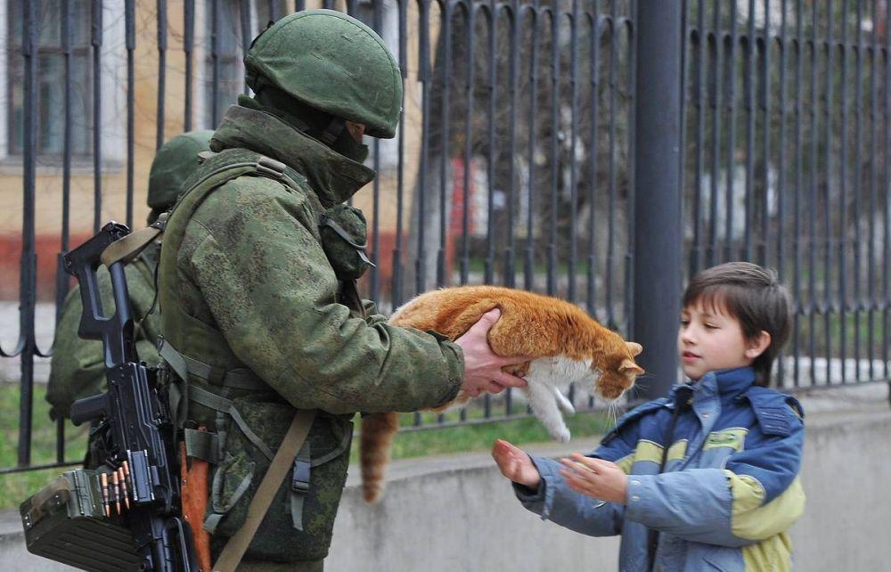 """Хроника """"Крымской Весны"""" 2014 года"""