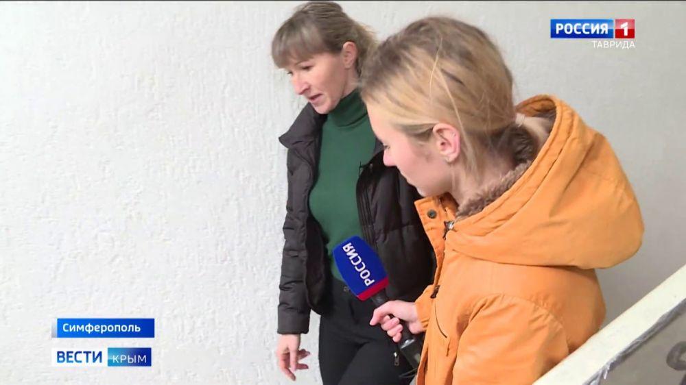 Жители Симферополя благоустроили собственный дом
