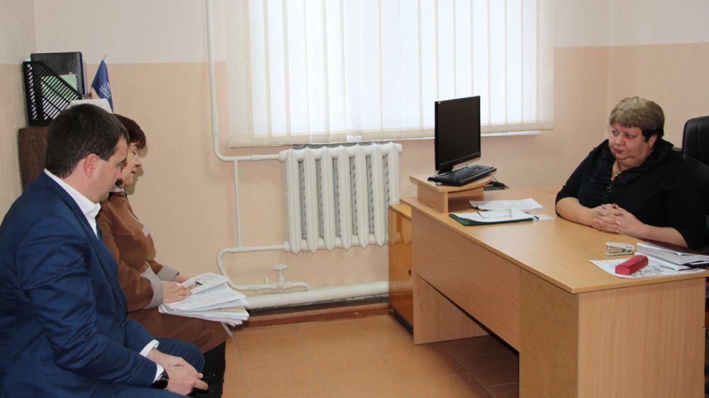 Людмила Пучкова провела личный прием граждан Бахчисарайского района