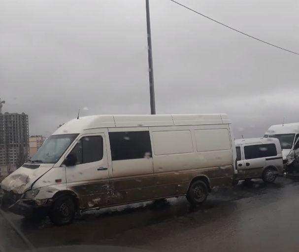 Масштабное ДТП произошло на объездной в Симферополе
