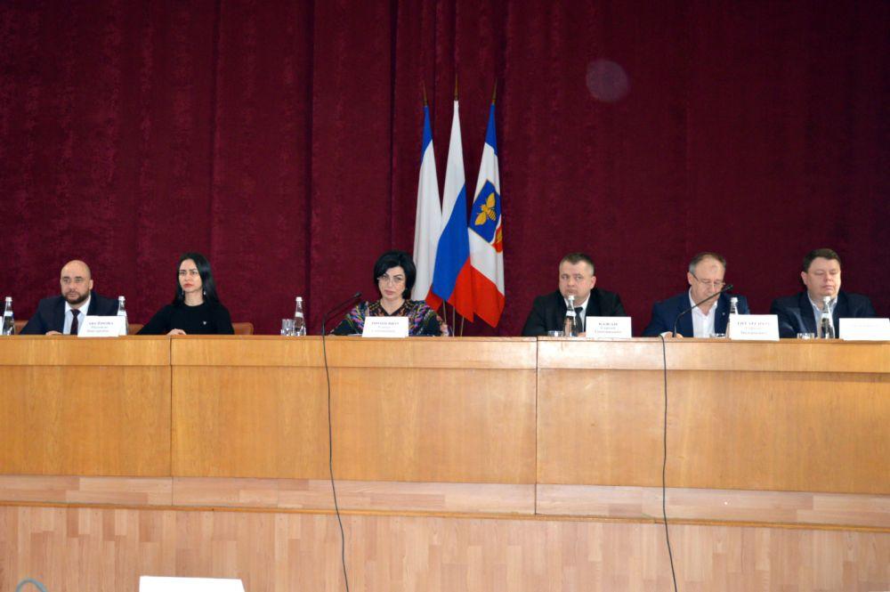 Прошло заседание Совета территорий Симферополя