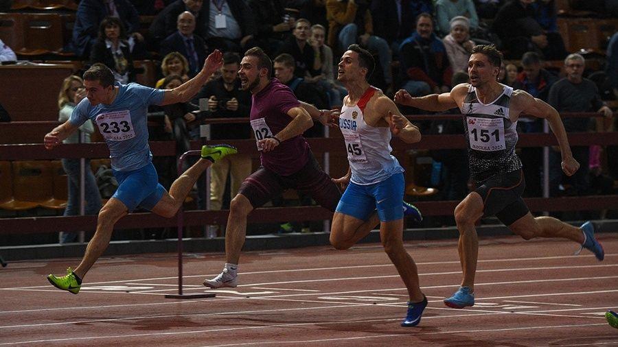 Симферополец Руслан Перестюк – серебряный призер чемпионата России в беге на 60 метров!