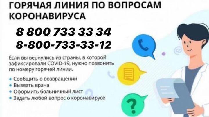 """Информация для граждан о номерах телефонов """"горячих линий"""" и информационных сайтах, где можно ознакомиться с мерами по профилактике коронавирусной инфекции"""