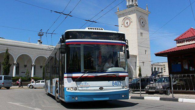 В Крыму могут ограничить работу общественного транспорта