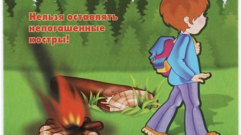 МЧС Крыма: Соблюдайте меры пожарной безопасности на природе!
