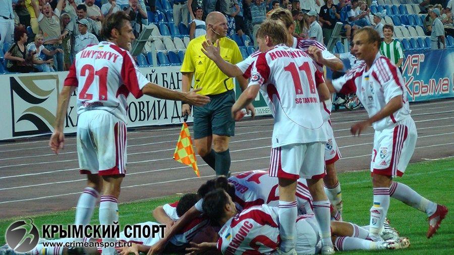 """Как это было. Драматичное противостояние """"Таврии"""" и французского """"Ренна"""" в Кубке Интертото-2008"""