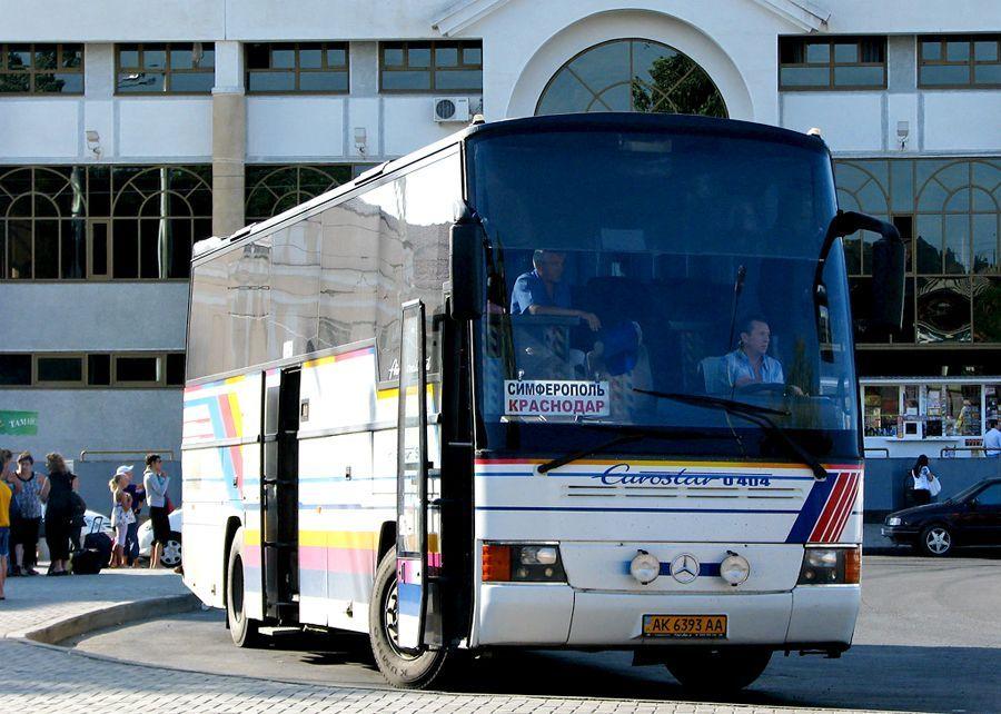 Прекращено автобусное сообщение между Крымом и Краснодарским краем