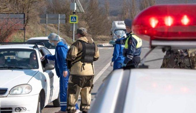 Заслон от коронавируса: пункты пропуска на въездах в Севастополь продолжают работу