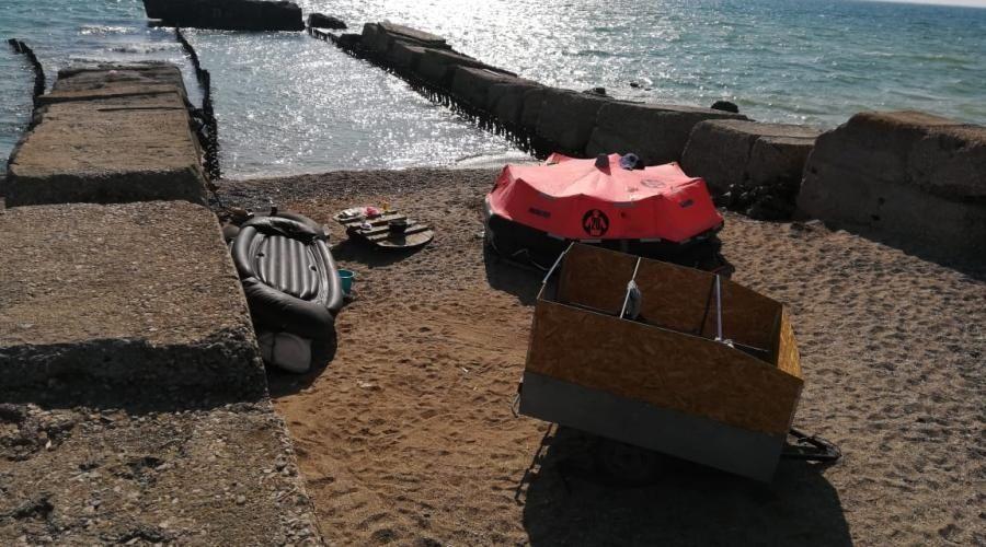Житель Пермского края оштрафован в Крыму за попытку самоизолироваться в палатке