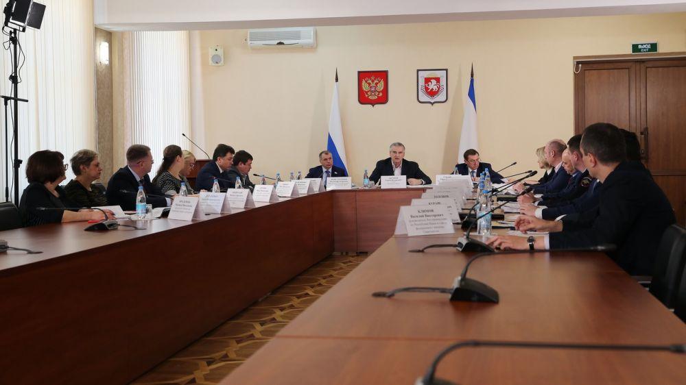 Сергей Аксёнов: В случае улучшения эпидобстановки режим повышенной готовности в Крыму может быть сокращён