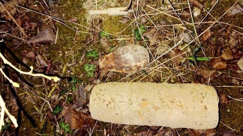Рабочие нашли боеприпасы времен войны у реки Бельбек под Севастополем