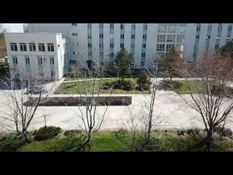 На территории больницы Армянска установили оцепление