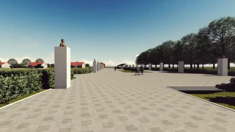 Инна Федоренко: Разработан дизайн-проект парка в пгт Вольное Джанкойского района
