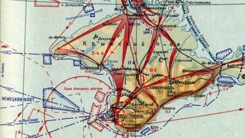 8 апреля 1944 года началась Крымская наступательная операция
