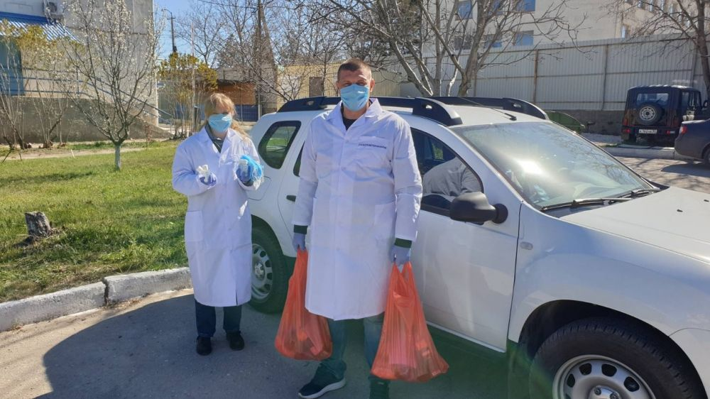 Государственная ветеринарная служба Республики Крым оказала помощь своим ветеранам
