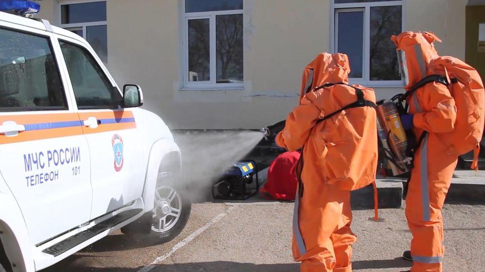 Севастопольские спасатели призывают граждан дезинфицировать квартиры и офисы