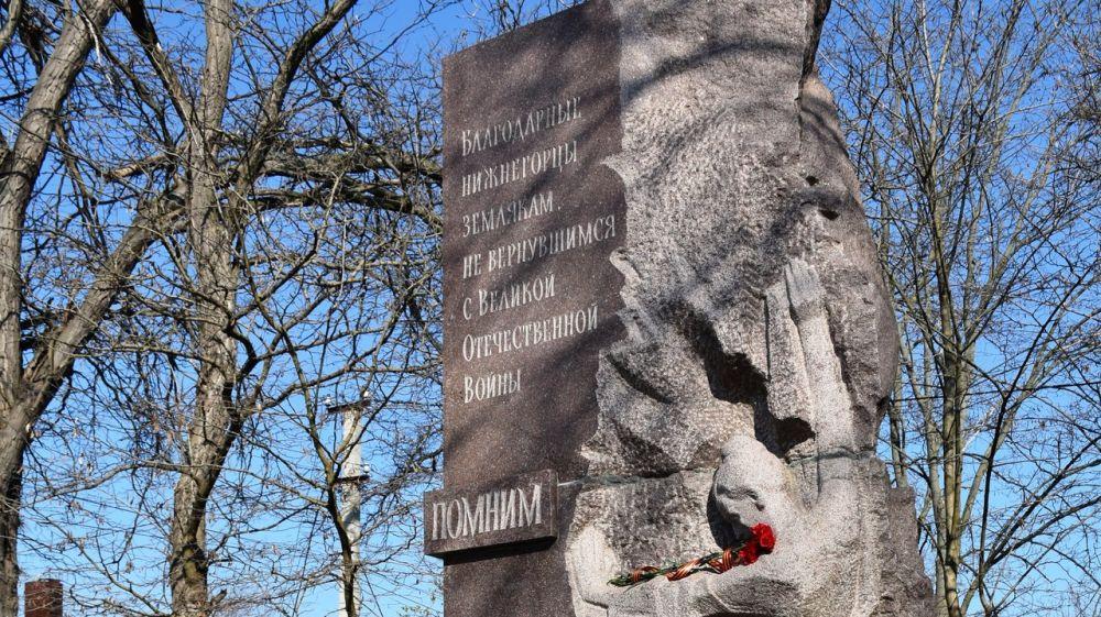 Главами сельских поселений Нижнегорского района организована и проведена работа по обновлению и наведению порядка у памятных мест, в том числе и на прилегающей территории