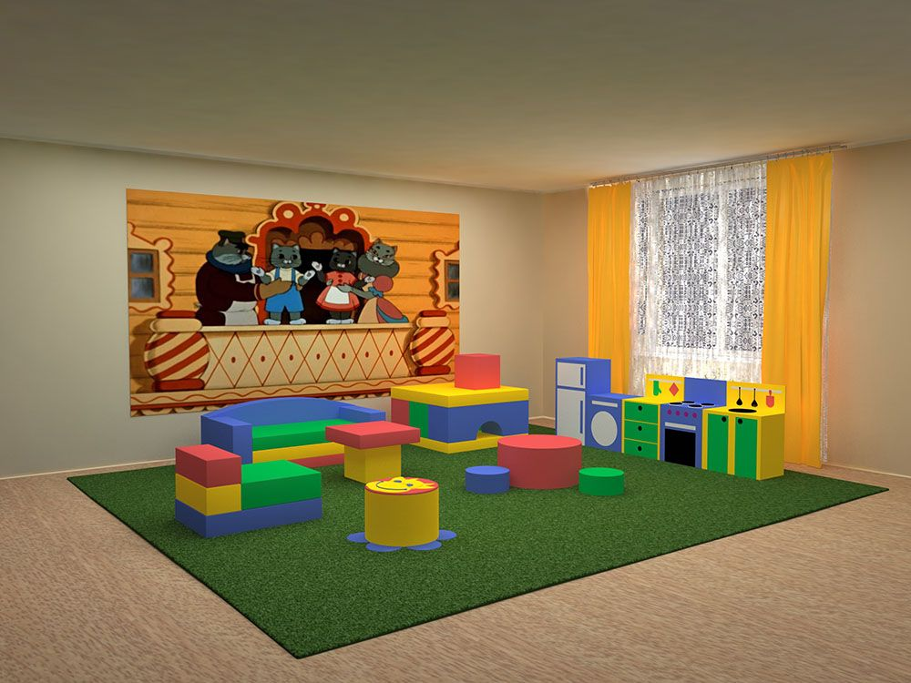 В детских садах Симферополя открылись дежурные группы