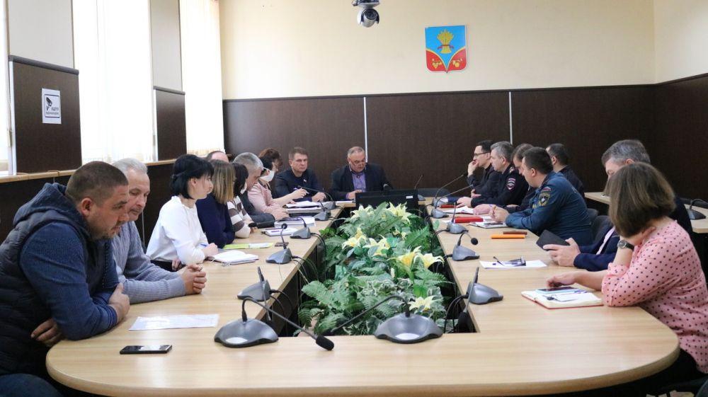 Василий Грабован провел очередное заседание штаба