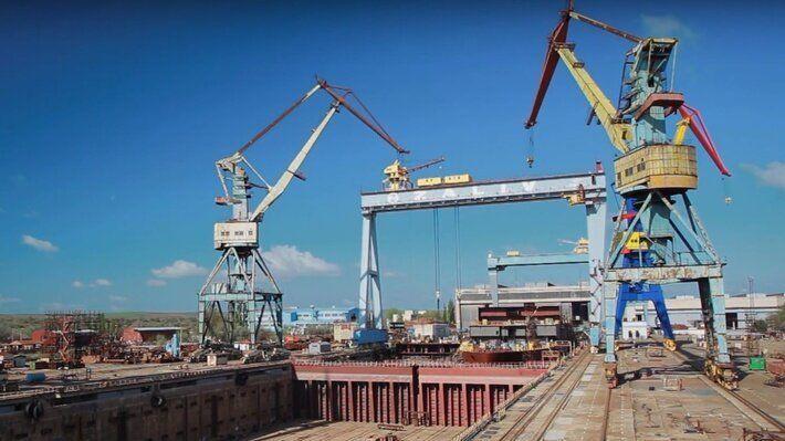 Крымские судостроительные заводы «Залив» и «Море» возобновили работу