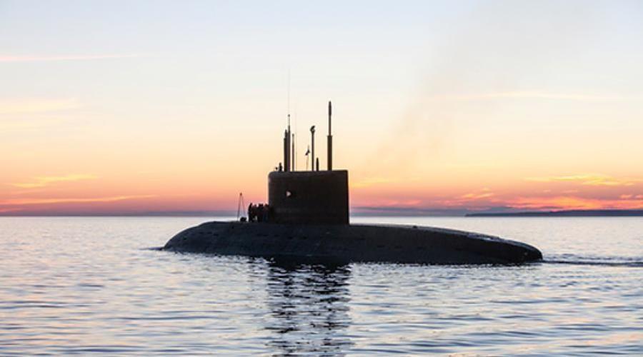 Морская авиация ЧФ и подлодка «Колпино» провели совместные учения