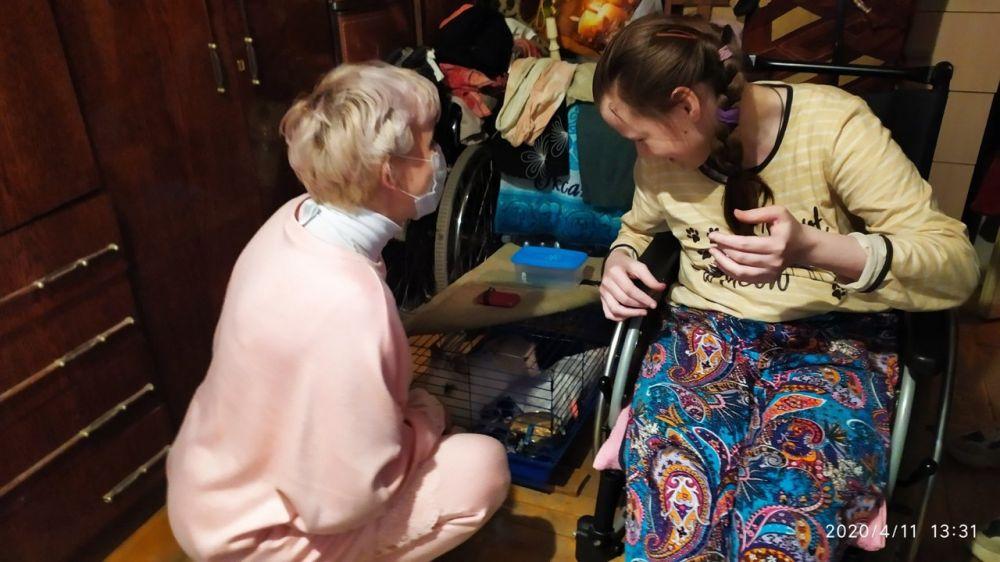 Волонтёрский корпус Ялты ежедневно выполняет более 50 заявок граждан по Большой Ялте