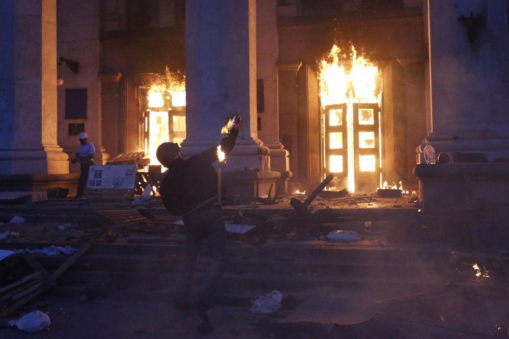 Аксёнов сравнил Одесскую трагедию с Волынской резней